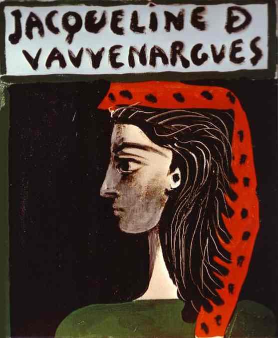 Пабло Пикассо. Жаклин де Вовенарг