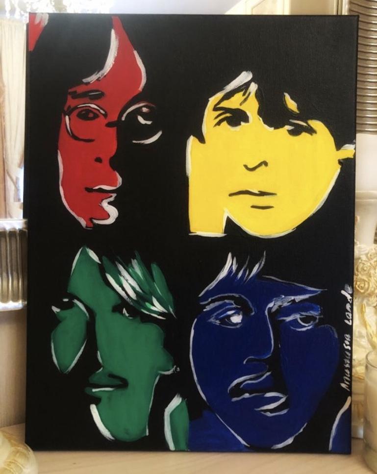 Anastasia Lande. The Beatles