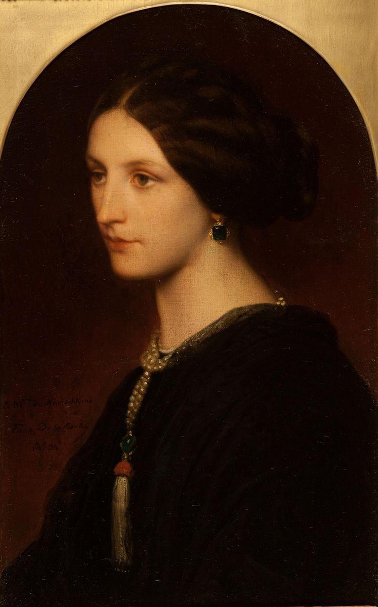 Paul Delaroche. Portrait of Countess S.Shuvalova.