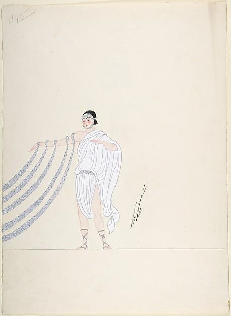 "Romain Tirtoff. ""George White Scandals"". Costume design"