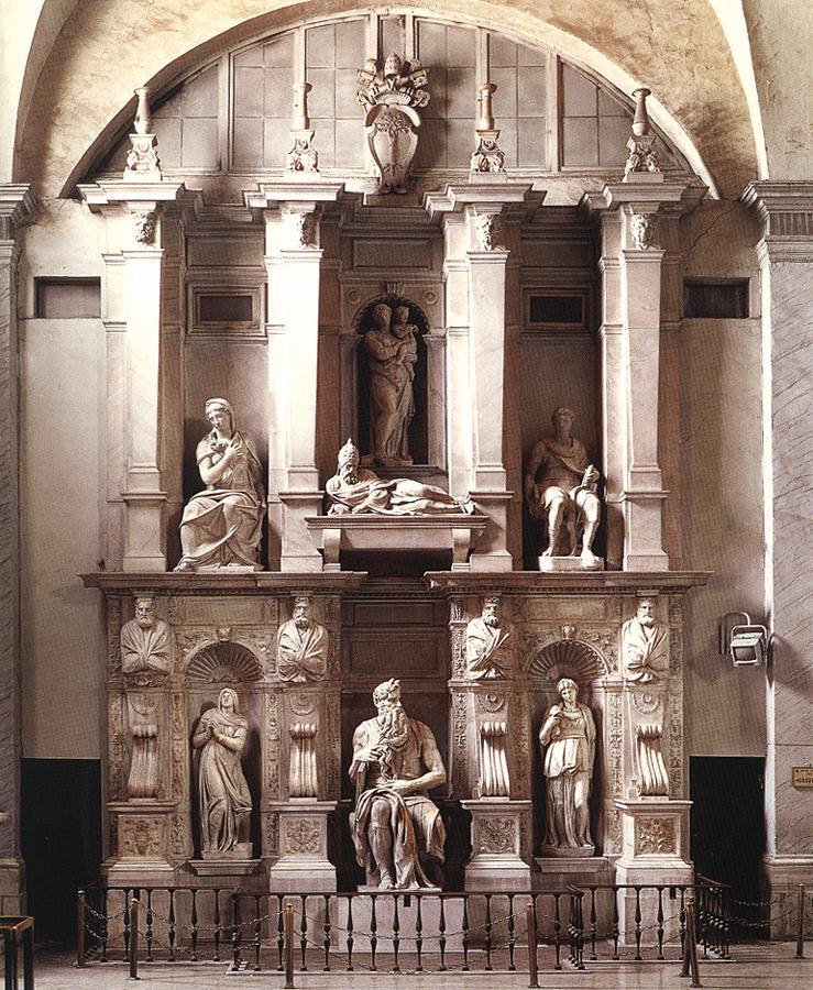 Микеланджело Буонарроти. Гробница Папы Юлия II