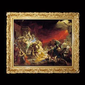 Framing-shop. Baroque single-no Welt