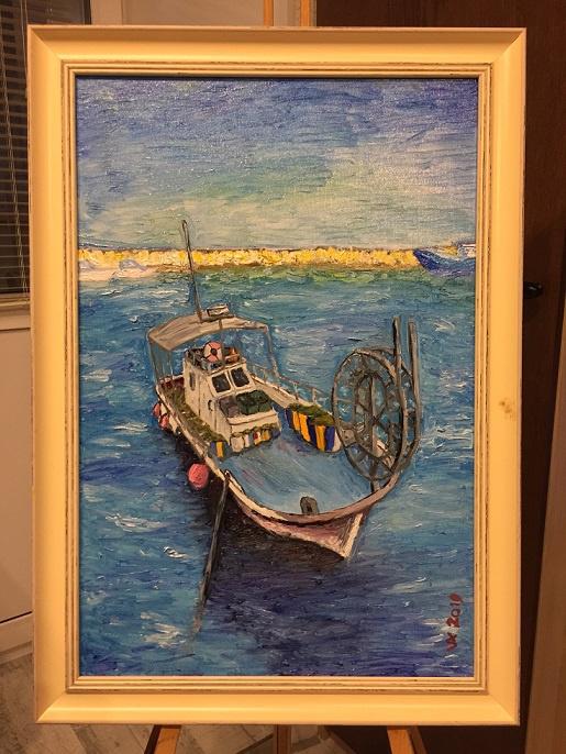 Konstantin Vizgalin. Fishing port in Limassol
