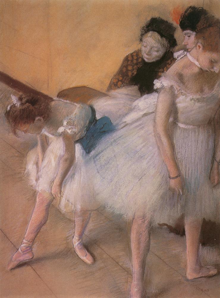 Эдгар Дега. Экзамен по танцам