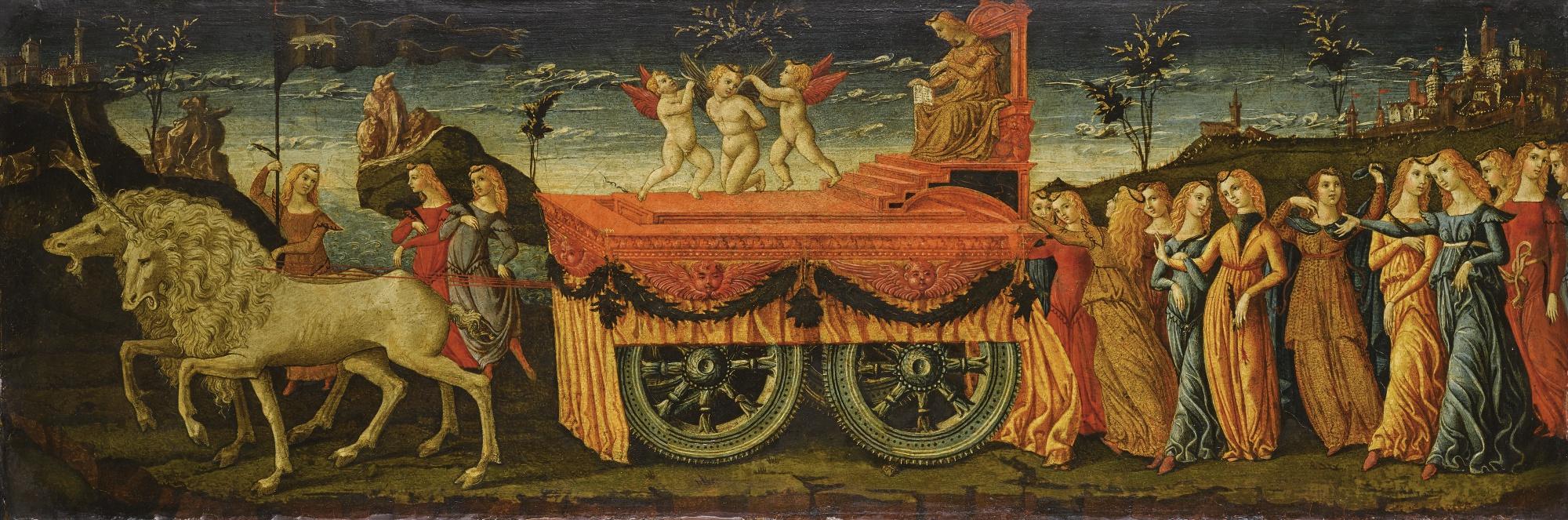 Либерале да Верона. Триумф христианства