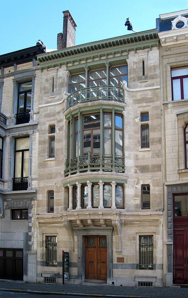 Victor Horta. Tassel Mansion (Hotel Tassel)