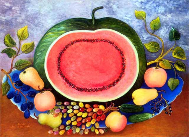 Elena Andreevna Volkova. Watermelon