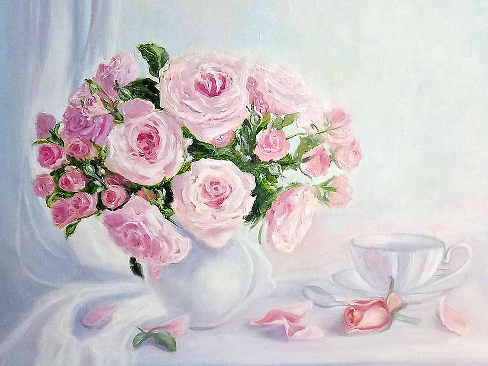 Victoria Fedorovna Humanenko. Good morning