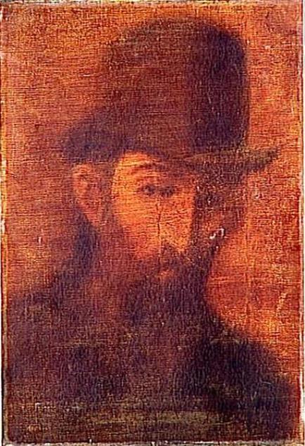 Theophile-Alexander Steinlen. The Poet Jean Rictus