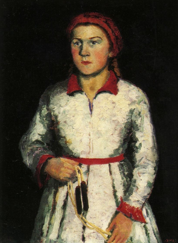Kazimir Malevich. Portrait of the artist's daughter