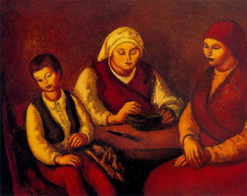 Артуро Соуто. Две женщины и ребенок