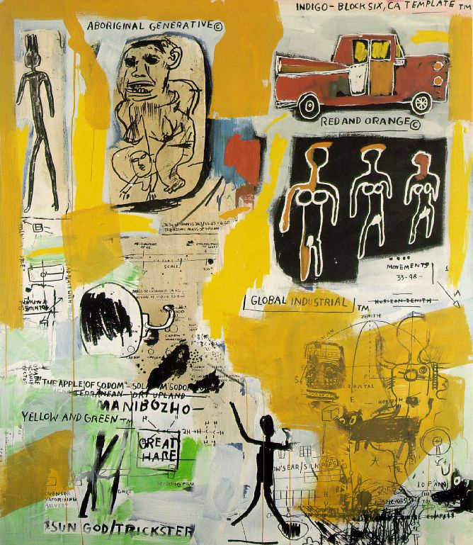 Aboriginal By Jean Michel Basquiat History Analysis Facts