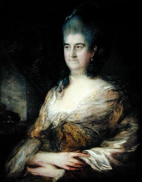 Томас Гейнсборо. Портрет пожилой дамы (Возможно, Элизабет, герцогиня Кингстоуна)