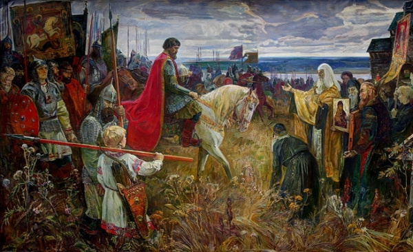 Gennady Sorogin Pavlovich. For the Russian Land! Entry of Dmitry Donskoy with an army to Kolomna