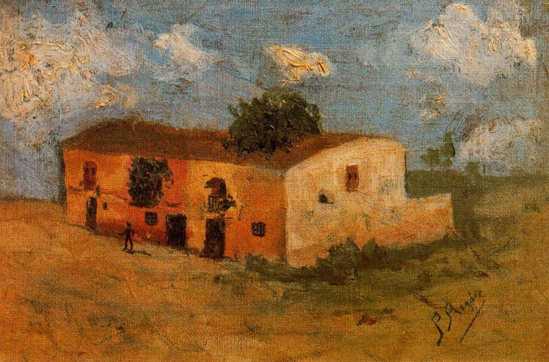 Пабло Пикассо. Дом в поле