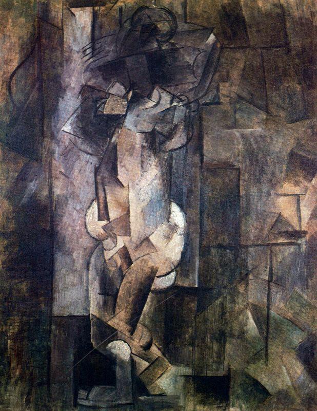 Пабло Пикассо. Обнаженная фигура