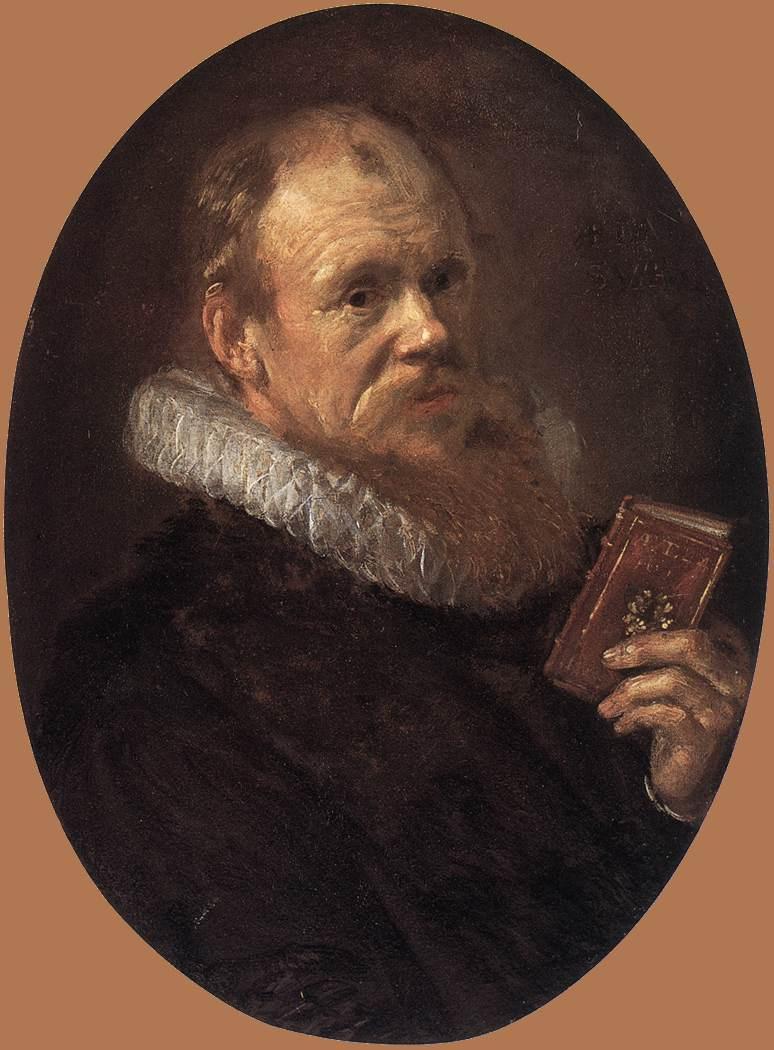 Frans Hals. Portrait of Theodorus Schrevelius