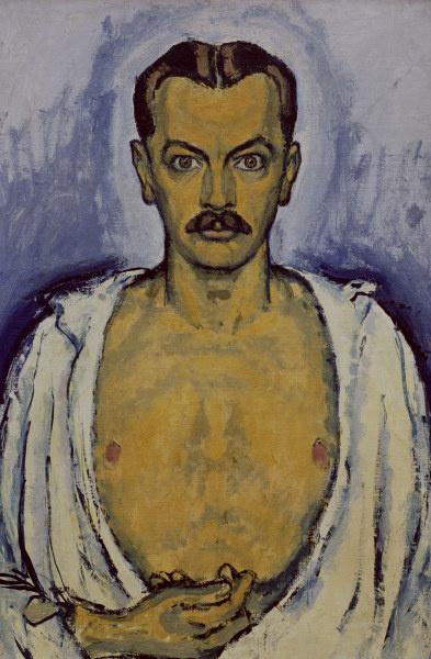 Koloman Moser. Self-portrait