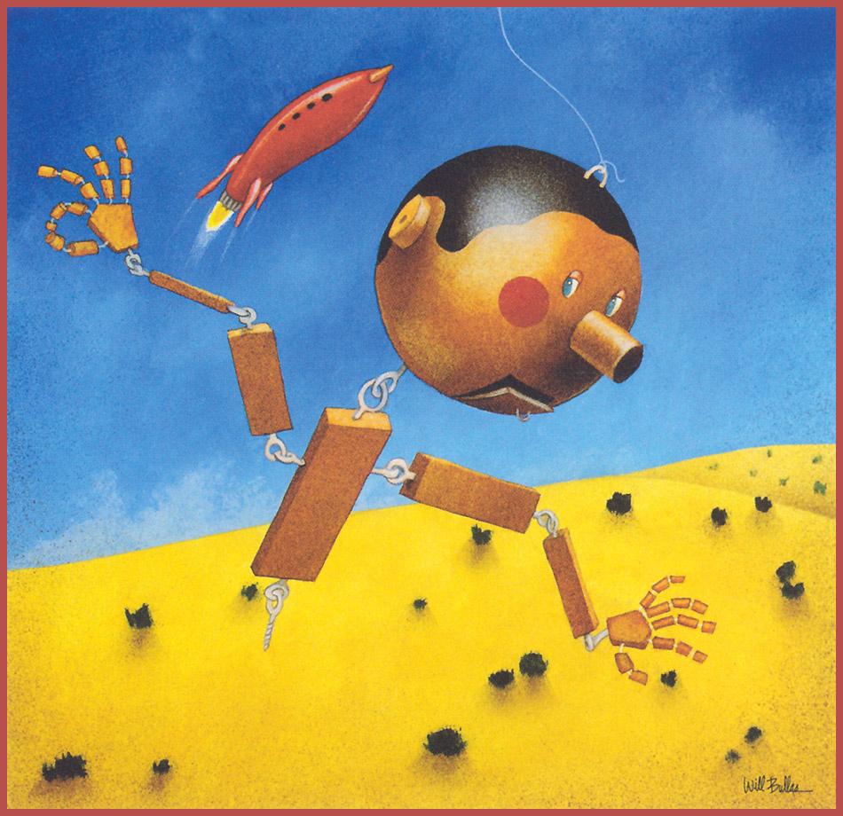 Уилл Буллас. Кукольный мальчик и красная ракета