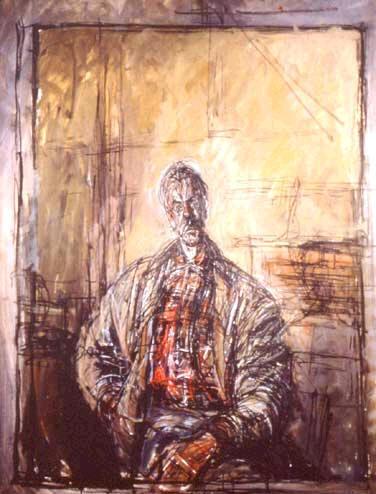 Альберто Джакометти. Портрет