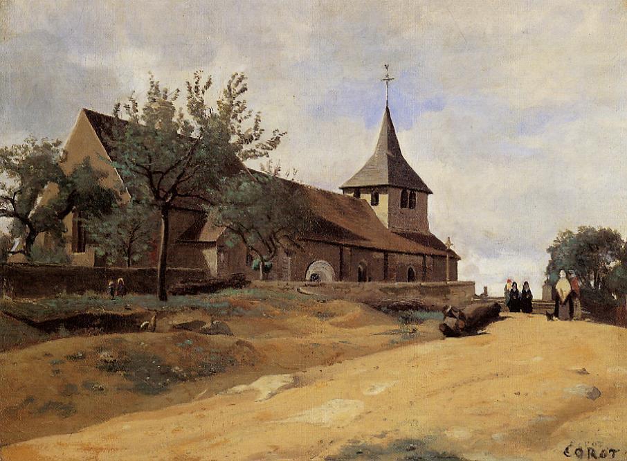 Камиль Коро. Церковь