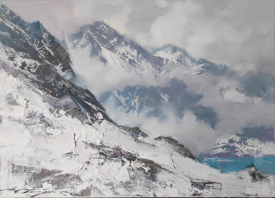 Denis Valerievich October. Fog in the mountains-2