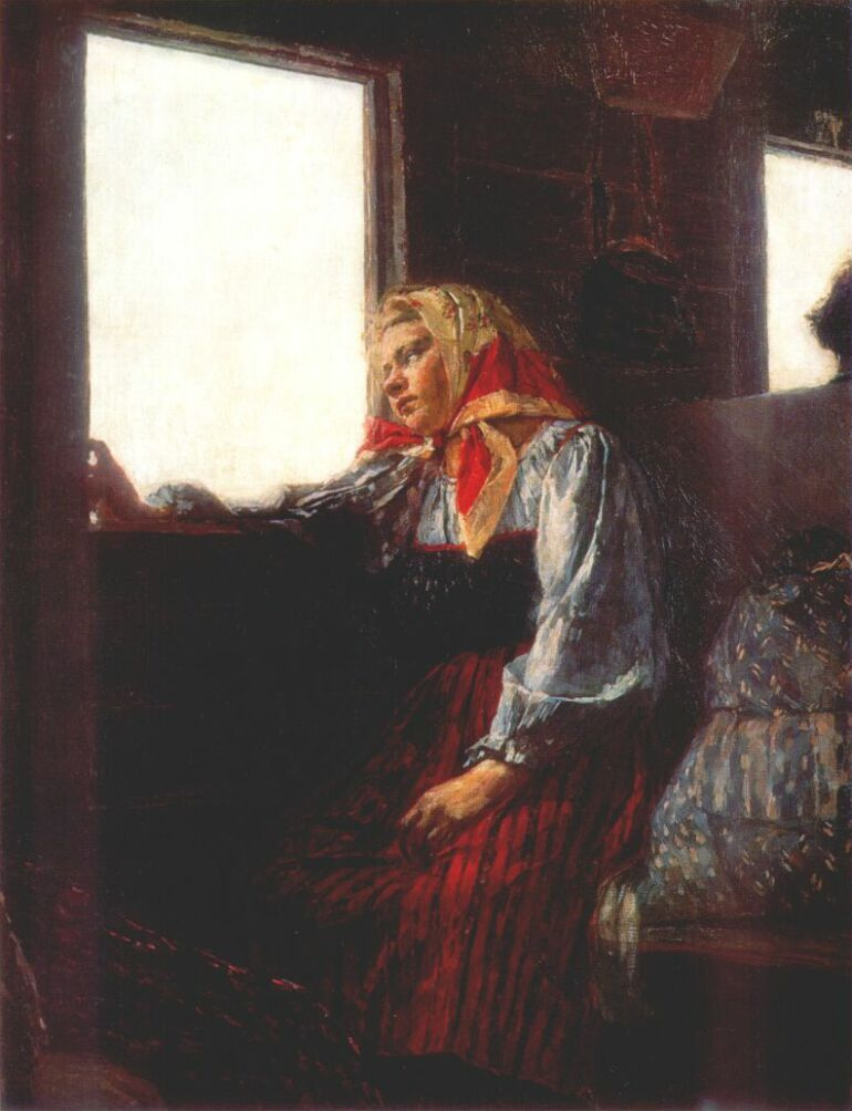 Кириак Константинович Костанди. У окна