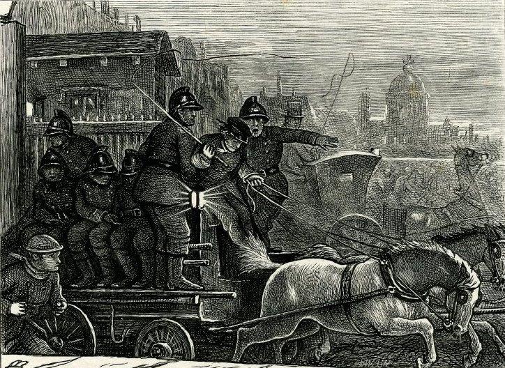 """Джон Эверетт Милле. Пожарные на телеге. Генри Чолмондели-Пеннелл, поэма """"Пак на Пегасе"""""""