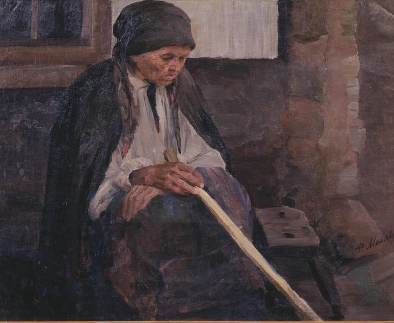 Filipp Andreevich Malyavin. Portrait of an old woman