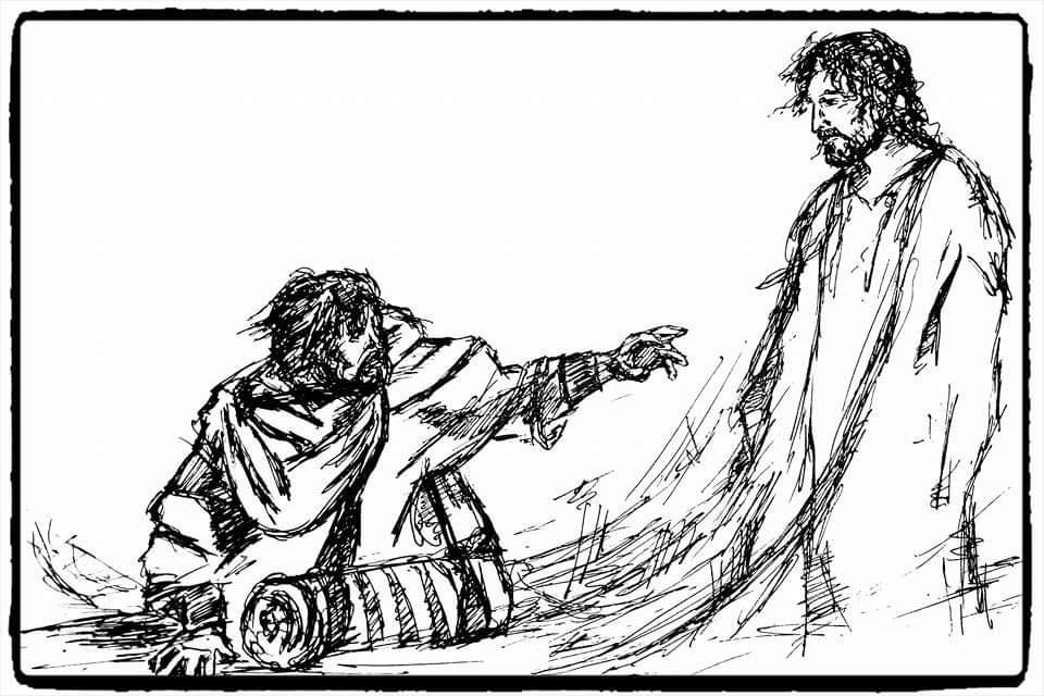 Konstantin Shevchenko. Saul's Conversion