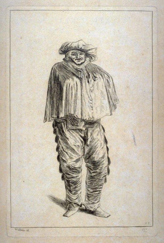 Антуан Ватто. Человек в шляпе