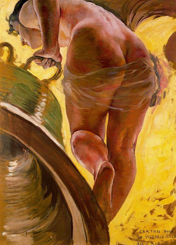Ernest Biler. Nude