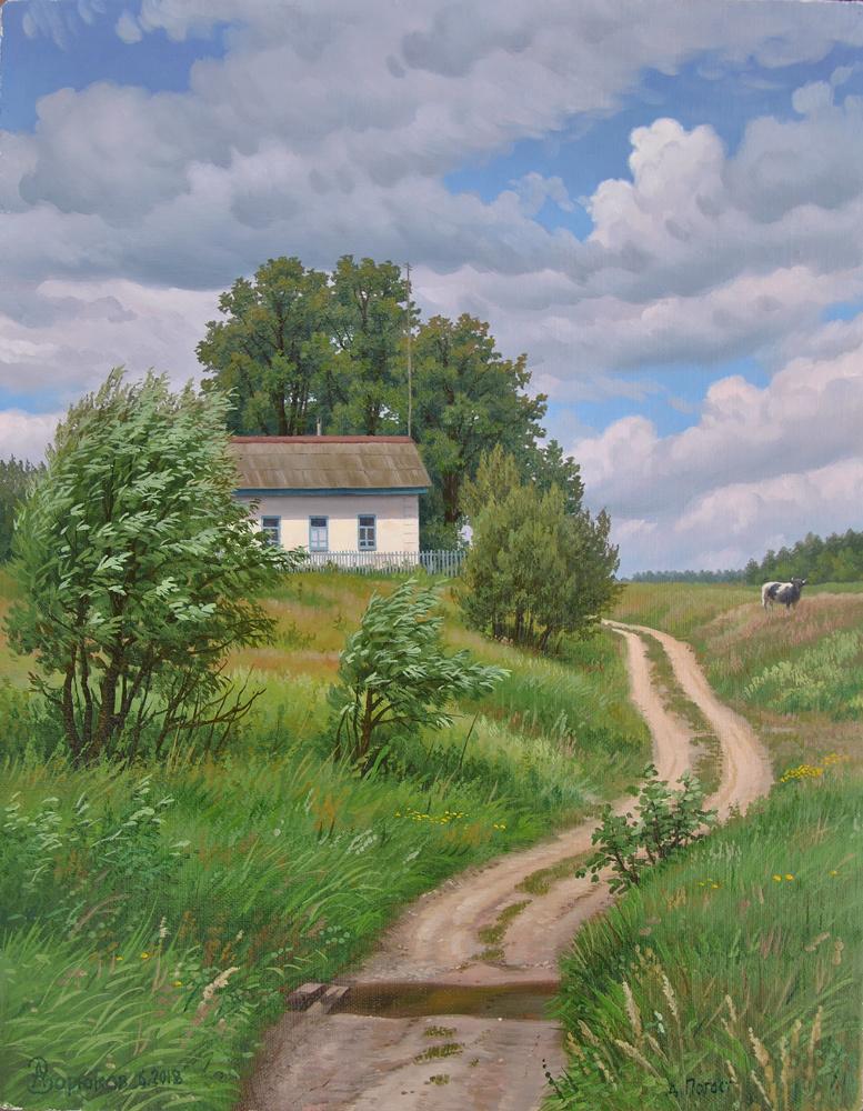 Alexander Vasilyevich Zoryukov. In the village of Pogost