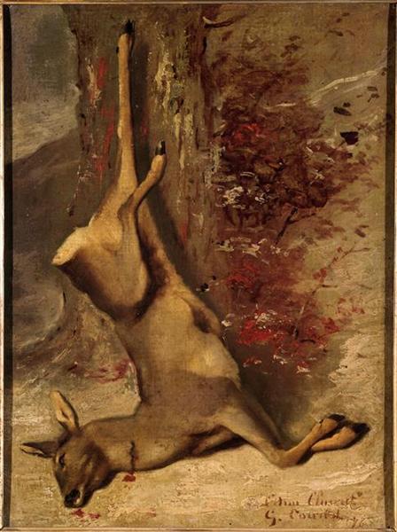 Gustave Courbet. Deer