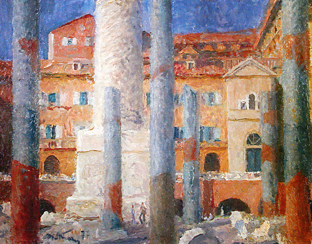 Tetyana Yablonska. Rome. The Forum Of Trajan