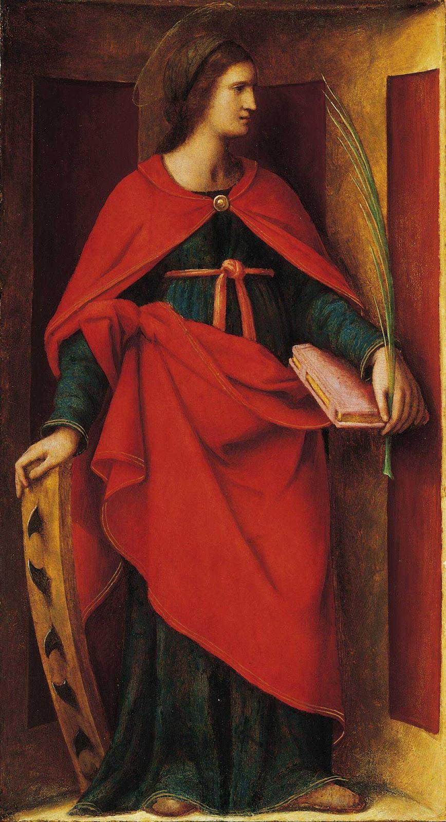 Bernardino Luini. St. Catherine