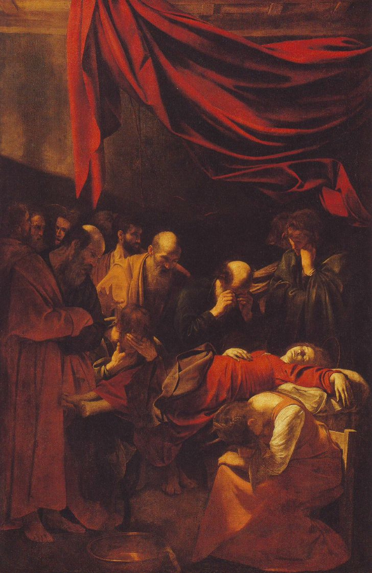 Микеланджело Меризи де Караваджо. Успение Богоматери