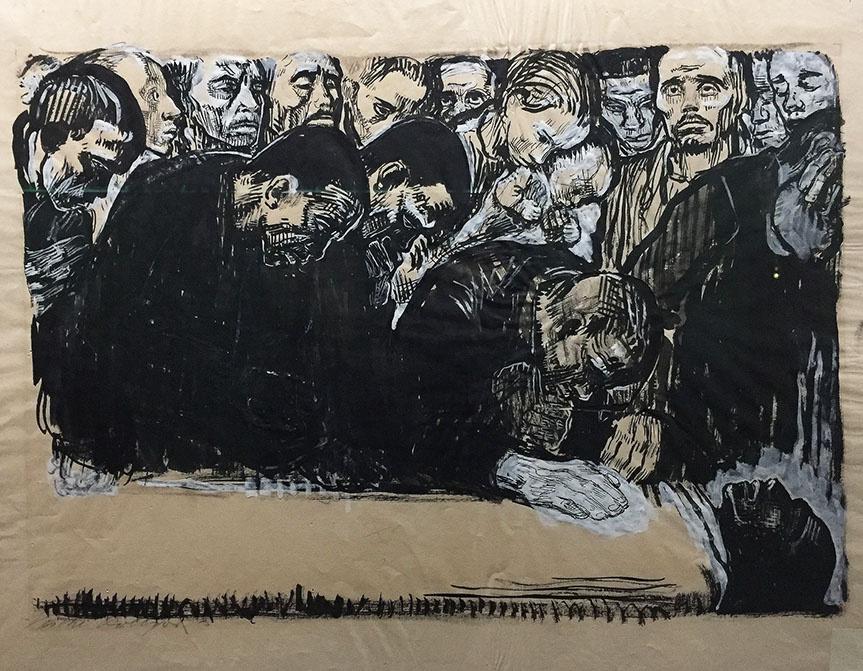 Käthe Kollwitz. Death Lament