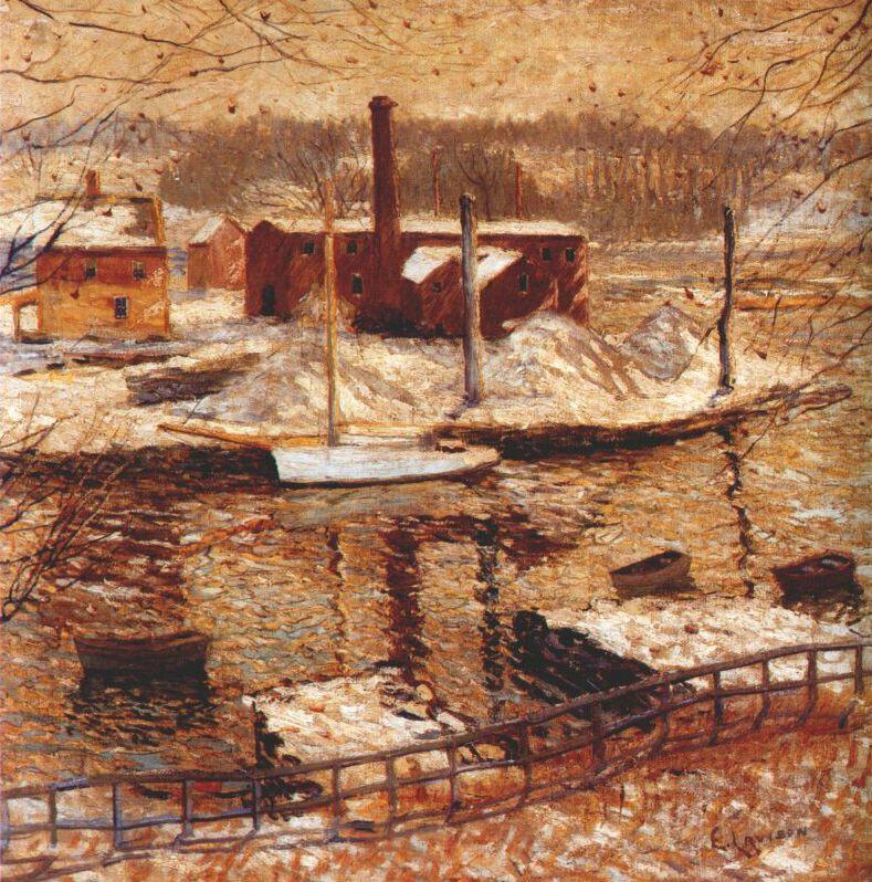 Ernest Lawson. Winter