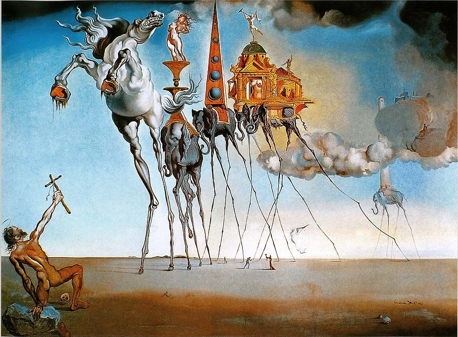 salvador dali the art within essay Research papers research paper (paper 2354) on salvador dali : influences: salvador dali: influences perhaps one of the world's greatest artists is the hispanic.