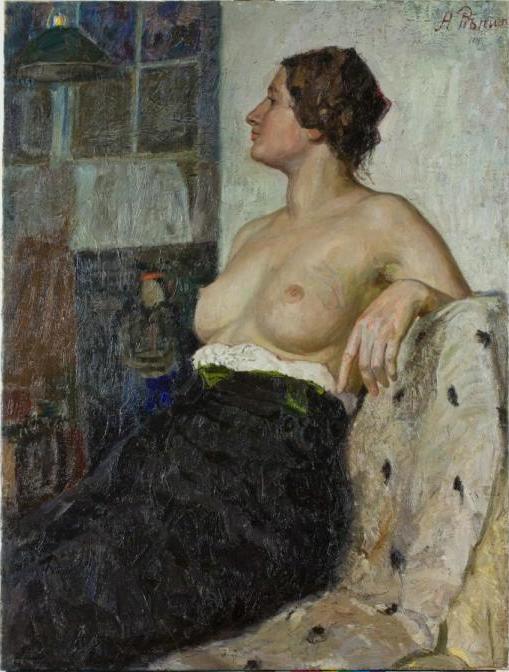 Alexey Alekseevich Repin. Model