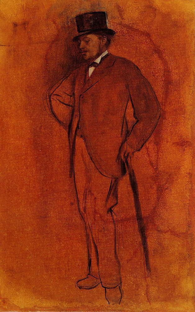 Edgar Degas. Achille de GA
