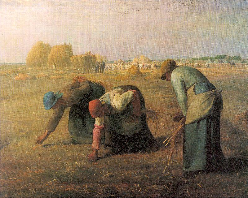 Жан-Франсуа Милле. Сборщицы колосьев
