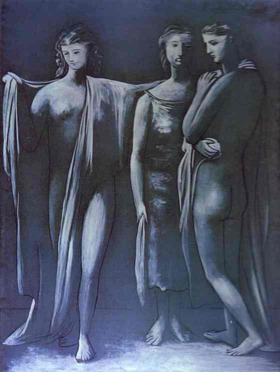 Пабло Пикассо. Три грации