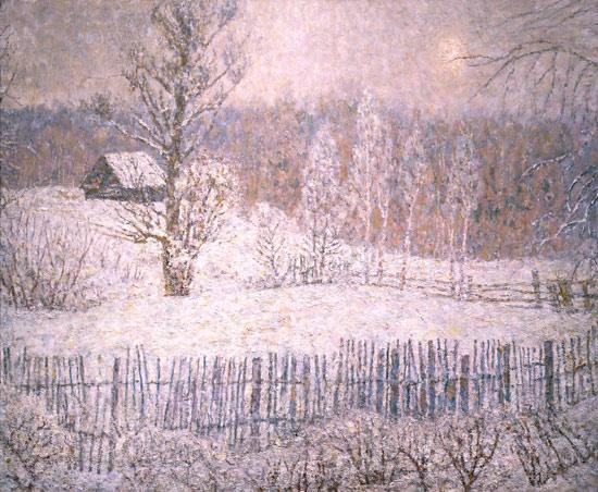 Alexey Leonidovich Glandin. Winter fog