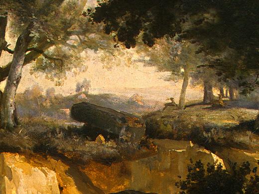 Камиль Коро. Темный лес