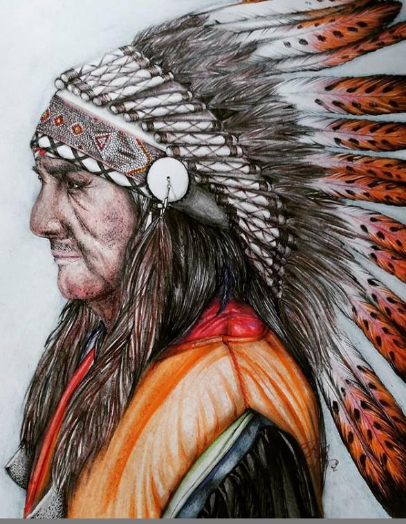 Ksenia Vasilyevna Karashchenko. Native American