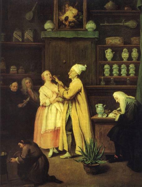 Pietro Longi. The pharmacist