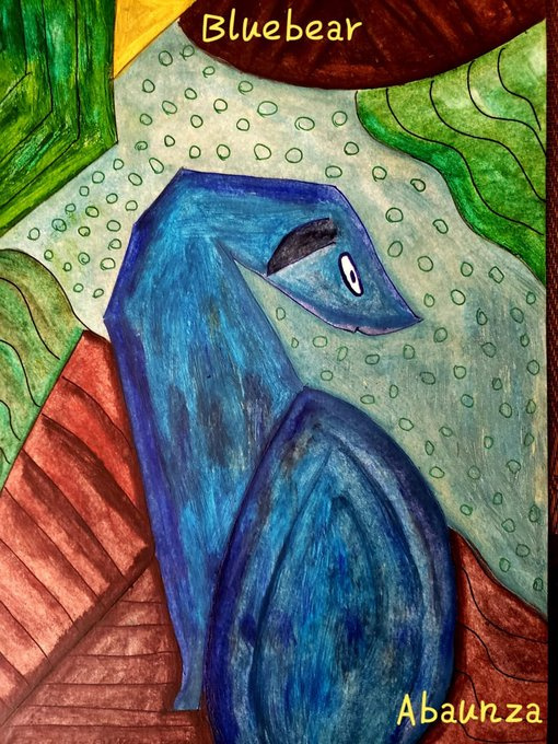 EDUARDO ABAUNZA. BLUE BEAR