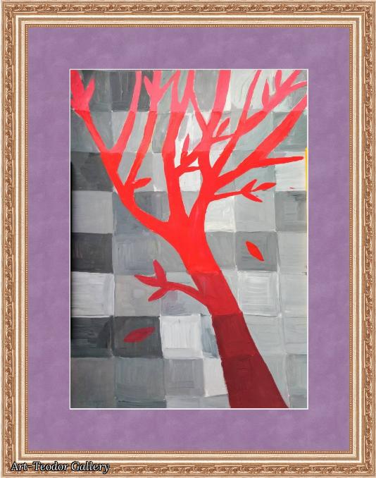 Art-Teodor Gallery. Painting Autumn